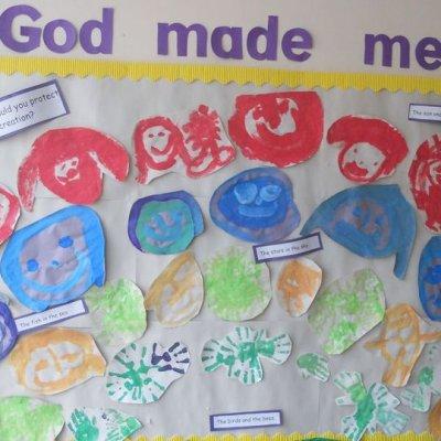 Religion God made me