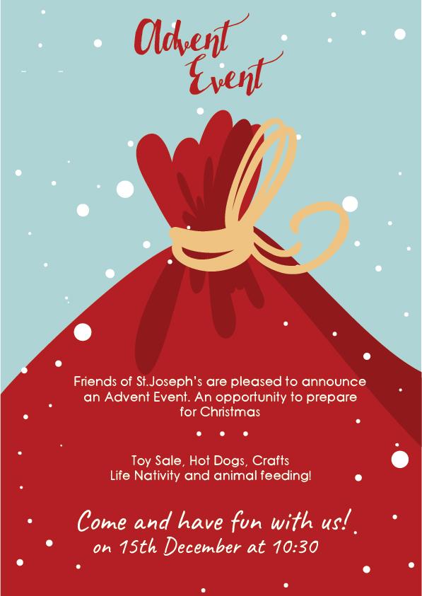 Advent Event @ St. Josepsh Catholic School