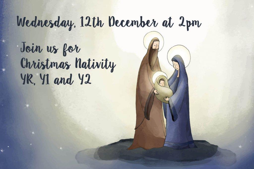 Christmas Nativity YR, Y1 and Y2