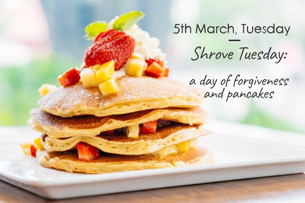 Shrove Tuesday/Pancakes day
