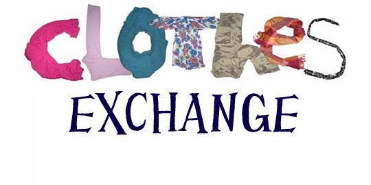 Clothes Exchange (School Hall)