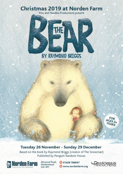 Years R & 1 Trip to Norden Farm Theatre to watch 'The Bear, Raymond Briggs'